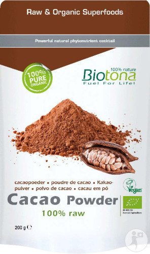 Biotona Cacao Powder Raw Bio 200g