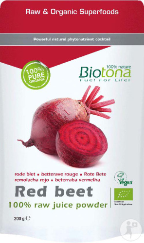 Biotona Red Beet Raw Bio Poeder 200g