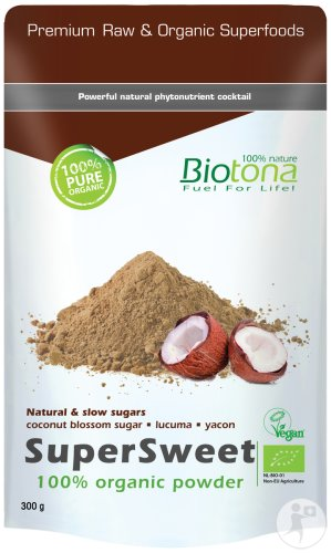 Biotona SuperSweet Raw Bio Poeder 300g