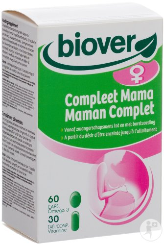 Biover Compleet Mama 30 Tabletten + 60 Capsules