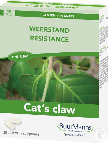 Buurmanns Cat's Claw Weerstand Pack 3x30 Tabletten