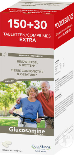 Buurmanns Glucosamine Bindweefsel En Botten 180 Tabletten