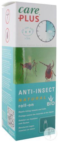 Care Plus Anti-Insect Natural Roll-On 50ml