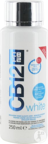 Cb12 White Mondwater Fl 250ml