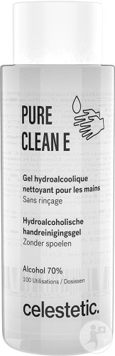 Celestetic Pure Clean E Alcoholische Hydrogel Handreinigingsgel 100ml