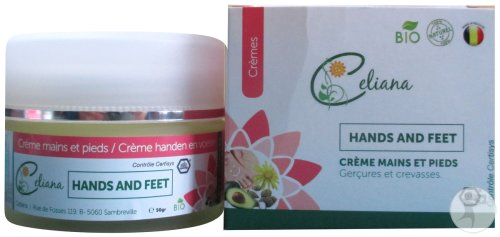 Celiana Hands And Feet Crème Pot 50g