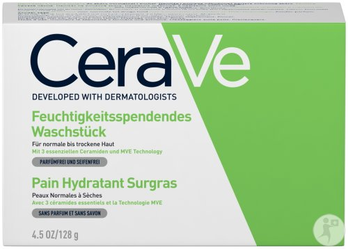 Cerave Hydraterend Wastablet Normale Tot Droge Huid 128g