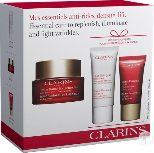 Clarins Essential Care To Replenish And Fight Wrinkles