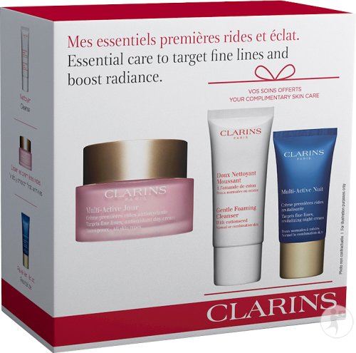 Clarins Essential Care To Target Fine Lines And Boost Radiance