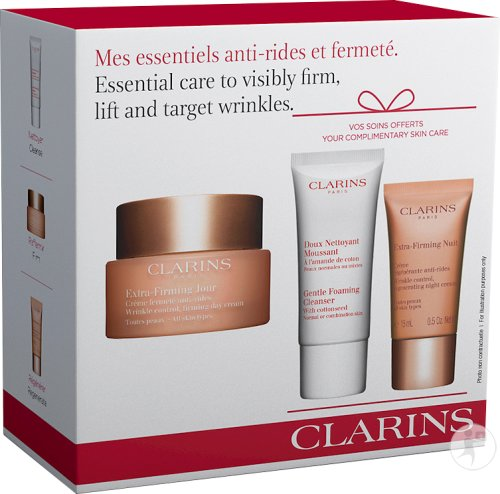 Clarins Essential Care To Visibly Firm Lift And Target Wrinkles