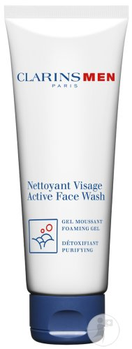 Clarins Men Active Face Wash Schuimende Gel Tube 125ml