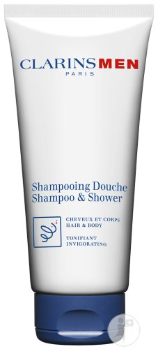 Clarins Men Shampoo En Shower Haar En Douche Tube 200ml