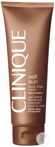 Clinique Self Sun Body Tinted Lotion Light To Medium 125ml