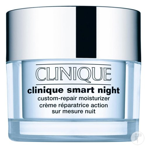 Clinique Smart Night Custom Repair Herstellend Crème Droge Tot Zeer Droge Huid 50ml