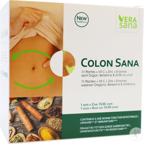Colon Sana Caps 60 + Fl 30ml