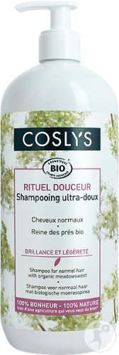 Coslys Shampooing Ultra-Doux Cheveux Normaux 1l