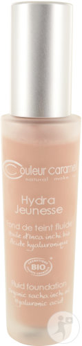 Couleur Caramel Foundation Fluid Hydra Jeunesse N°24 Sable