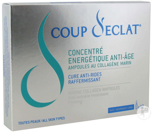 Coup D'eclat Concentre Energet. A/age Ahp 12x1ml