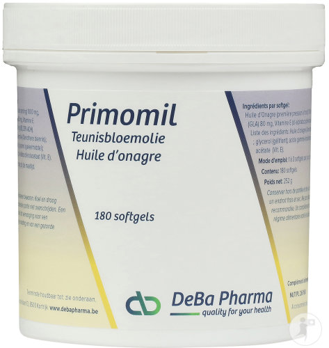 Deba Primomil 1000mg Softgels 180