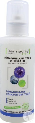 Dermaclay Micellaire Make-Up Remover Korenbloem Gevoelige Ogen 125ml