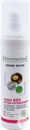 Dermaclay Rich Active SOS Ultra-Moisturising Creme 50ml