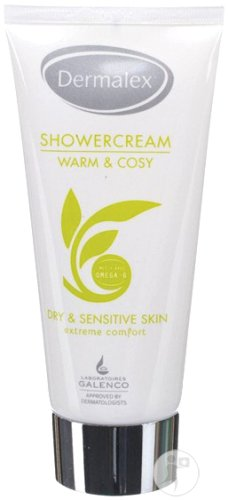 Dermalex Pure Moments Showercream Droge En Gevoelige Huid Tube 200ml