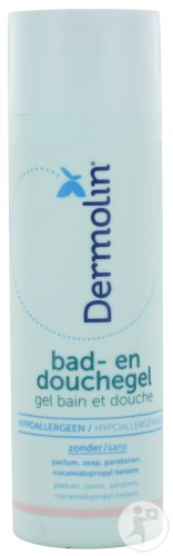 Dermolin Bad- En Douchegel Fles 200ml Nieuwe Formule