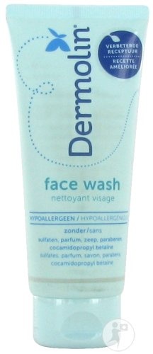 Dermolin Face Wash Gel Tube 100ml