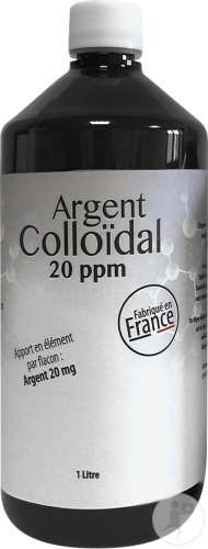 Dr Theiss Colloïdaal Zilver Pompfles 1L
