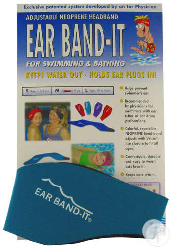 Ear Band-It Hoofdband Zwemmen Neopreen Medium 1 Stuk