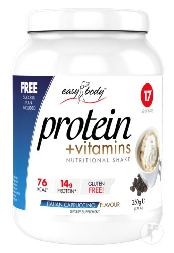 Easy Body Protein Italiaanse Cappuccino Poeder 350g