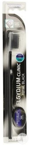 Elgydium Tandenborstel Clinic Total Black + Monster Dentifil Black