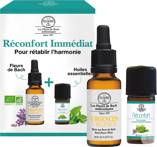 Elixirs&Co Etui Opluchting 20ml + Synergie 5ml