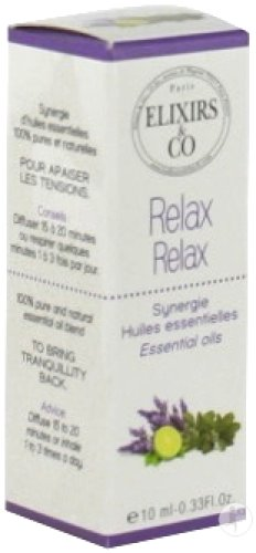 Elixirs&Co Relax Essentiële Olie 10ml
