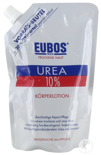 Eubos Urea 10% Body Lotion Droge Huid Navulling 400ml