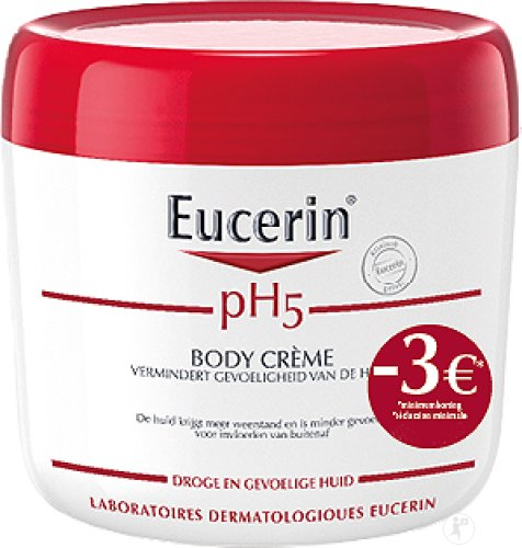 Eucerin pH5 Body Crème Droge En Gevoelige Huid Pot 450ml Promo -3€
