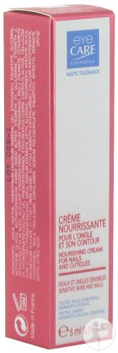 Eye Care Cosmetics Voedende Crème Voor De Nagel En Nagelrand Tube Met Masseerapplicator 5ml