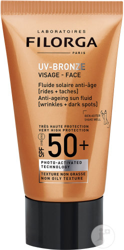 Filorga UV-Bronze Gelaat Anti-Aging Zonnefluide SPF50+ Tube 40ml