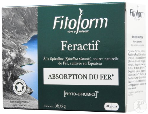 Fitoform Feractif Blister 60 Tabletten