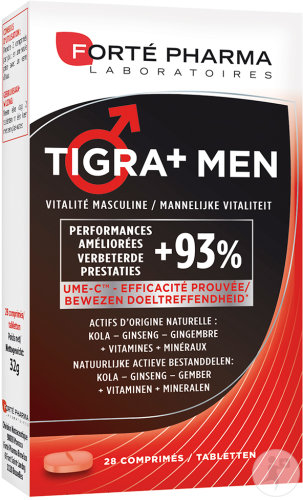 Forté Pharma Energie Tigra+ Men 28 Tabletten