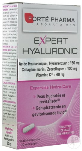 Forté Pharma Expert Hyaluronic Duopack 2x30 Capsules