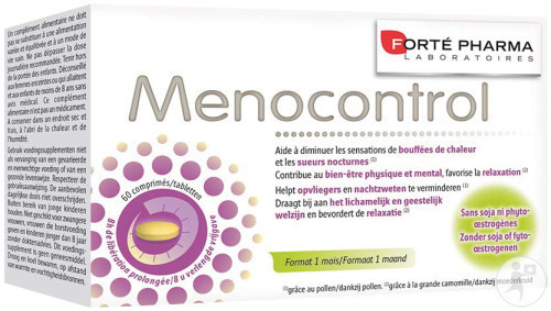 Forté Pharma Menocontrol 60 Tabletten