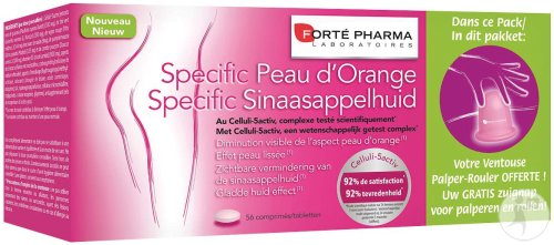 Forté Pharma Specific Sinaasappelhuid 56 Tabletten