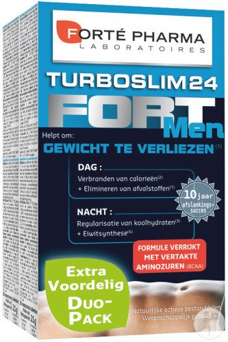 Forté Pharma Turboslim 24 Fort Men 2x28 Tabletten