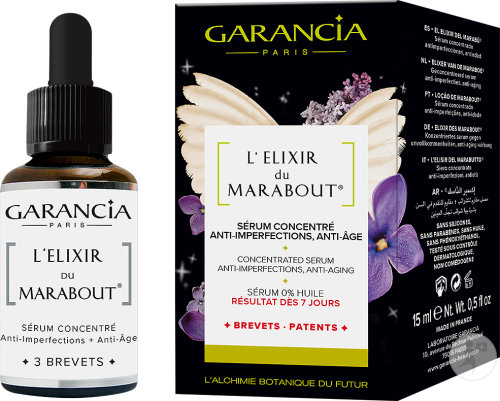 Garancia L'Élixir Du Marabout Geconcentreerde Anti-Imperfectie En Anti-Aging Serum 15ml
