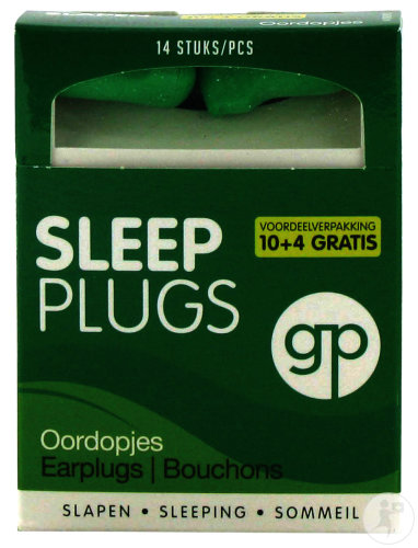 Get Plugged Sleep Plugs 14 Stuk