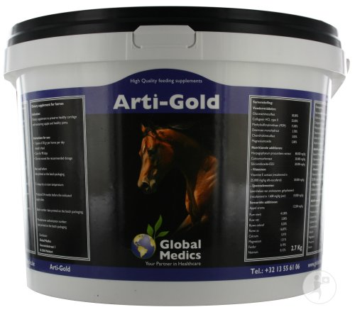 Global Medics Arti-gold Poeder 2,7kg