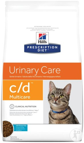 Hill's Pet Nutrition Prescription Diet Urinary Care C/D Multicare Feline Ocean Fish 1,5kg