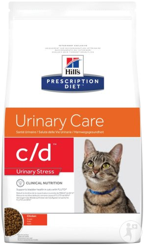 Hill's Pet Nutrition Prescription Diet Urinary Stress C/D Feline Met Kip 4kg