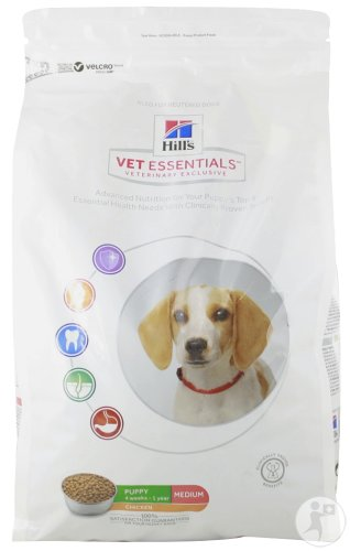 Hill's Pet Nutrition Science Plan VetEssentials Puppy Medium Met Kip 2kg